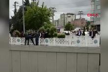 Diyarbakır'da aranan zanlı ortalığı karıştırdı