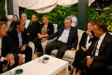 Erdoğan'dan Demirören ailesine başsağlığı ziyareti