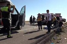Konya'da korkunç kaza! TIR'ın altına girdiler