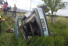 Feci kaza: Şarampole yuvarlandı, ölü ve yaralılar var!
