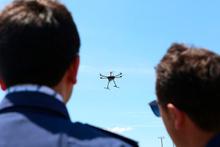İnsansız hava aracı Çağatay'ın ilk görevi trafik oldu
