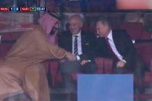 Rusya'da ilk golün ardından tarihi kare