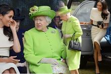 Meghan Markle kimsenin yapamadığını Kraliçe'ye yaptı!