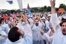 AK Parti'nin 'Büyük İstanbul Mitingi' için toplanmalar başladı