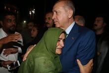 Erdoğan'dan canlı yayın sonrası sürpriz ziyaret