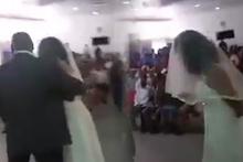 Gelin geldi yüzünü açtı herkes şoke oldu skandal düğün!