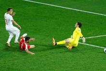 İsviçre Shaqiri'nin golüyle kazandı