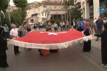 AK Parti binası önünde hareketlilik hazırlıklar başladı