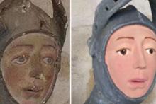 İspanya'da 'korkunç' heykel restorasyonu