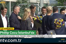 Fenerbahçe'nin yeni teknik direktörü Phillip Cocu İstanbul'a geldi