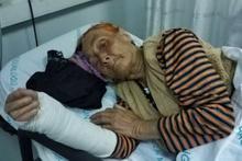 Oğlu ve gelini 'dilenmiyor' diye hastanelik etti! 83 yaşında...