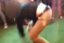Dans eden ajan yanlışlıkla bir kişiyi vurdu