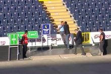 Fenerbahçe Kongresi'nde talihsizlik… Ali Koç ile selamlaşırken…