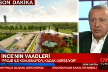 Cumhurbaşkanı Erdoğan'dan 'Millet bahçesi' açıklaması: Central Park'ın...