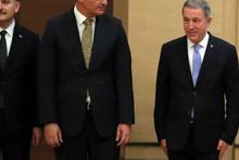 Reuters kamerasına yansıdı: Milli Savunma Bakanı Hulusi Akar ismi okununca....