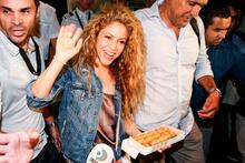 Ünlü şarkıcı Shakira İstanbul'da