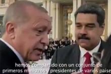 Maduro'dan 'Selvi boylum Al yazmalım' paylaşım