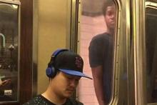 Metroda korku dolu anlar… Kapıda asılı kaldı ve…