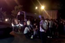 Diyarbakır'da feci kaza! Çok sayıda ambulans ve polis ekibi sevk edildi