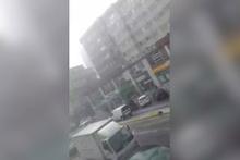 Çekmeköy'de dolu yağışı şoke etti