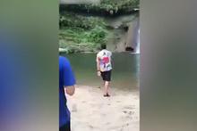 Korkunç ölüm! Metrelerce yüksekten yere çakıldı
