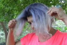 Saçını boyatmaya gitti kuaförde kabusu yaşadı!