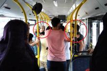 Otobüste yaşlılara yer verilmesini isteyen genç darp edildi!