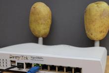 Modeminize patates takın bakın neler olacak