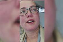 İsveçli kız THY uçağını durdurdu! Alkışlarla destek verdiler