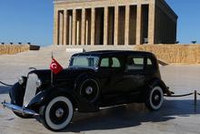 Restorasyonu tam iki yıl sürdü: İşte Atatürk'ün otomobili!