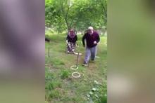 72 yaşındaki dede ve eşinin survivor performansı