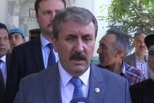 BBP lideri Destici: Öküz öldü ortaklık bozuldu