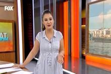 Fox Tv sunucusu canlı yayında fena rezil oldu! Rejiye patladı