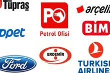 Türkiye'nin devleri açıklandı ilk üçte o şirketler var