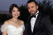 Aşkın sağı solu belli olmaz Tayvan'dan Diyarbakır'a gelin gitti