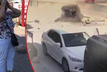 Kadıköy'de feci kaza anı kamerada!