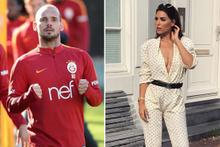 Wesley Sneijder Yolanthe Cabau çifti boşanıyor mu? Son noktayı koydu