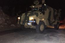 Adıyaman'da askeri araca bombalı saldırı