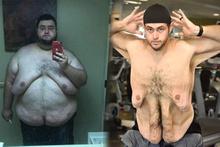 244 kilodan 136 kiloya düştü bambaşka birine döndü! Son haline bakın...