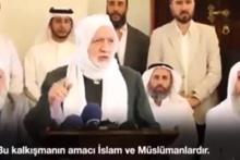 Müslüman Alimler Birliği'nden Türkiye'ye büyük destek!