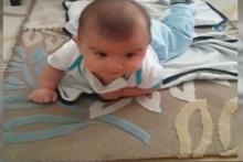 Şehit Bedirhan bebekten geriye bu görüntüler kaldı!