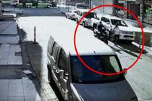 Kaza sanıyordu: Gerçek kameralarda ortaya çıktı!