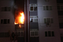 Adana'da 9 katlı apartmanda can pazarı