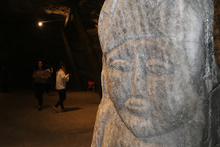 5 bin yıllık tuz mağarasına yoğun ilgi