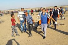 İsrail askerleri Gazze sınırında 189 Filistinliyi yaraladı