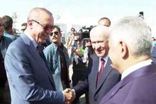 Cumhurbaşkanı Erdoğan, Bahçeli ve Yıldırımla görüştü