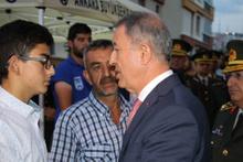 Akar'dan terörle mücadele için flaş sözler