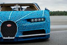 Bugatti'nin şaheser otomobilini hiç böyle görmediniz