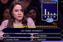 Kim Milyoner Olmak İster'de yarışmacı öyle bir soruda takıldı ki!
