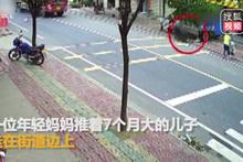 Korkunç görüntü! Çöp kamyonunun tekerleği minik bebeği öldürdü